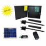 Upswung SW Solar Package 1650 24DC/115V Residential Solar Dual Swing Gate Operator with 1 10watt panel 1 wireless receiver, 2 transmitters and a Safety Photo Eye.