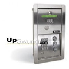 Doorking 1802 EPD Telephone Entry System for Apartment/ Flush Mount  with Electronic Directory 1802-091,