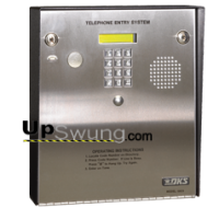 Doorking 1803 Telephone Entry System for Small Apartment/ Offices- Surface Mount, Stainless Steel 1803-080