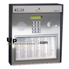 Doorking 1810 Telephone Entry System for Residential Use-Surface Mount, Stainless Steel 1810-080