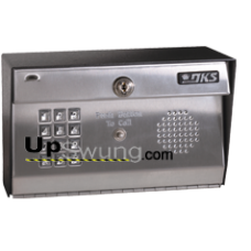 Doorking 1812 Classic Telephone Entry System- Surface Mount, Stainless Steel 1812-081