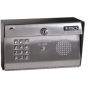 Doorking 1812 Plus Telephone Entry System - Surface Mount, Stainless Steel 1812-089