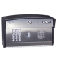 Doorking 1812 Access Plus Telephone Entry System- Surface Mount, Curved 1812-096