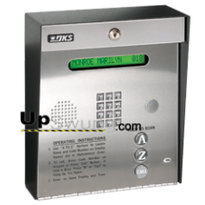 Doorking 1834 PC Programmable Telephone Entry System- Surface Mount, Stainless Steel 1834-080