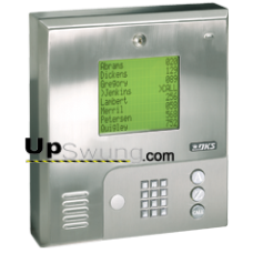 Doorking 1837 PC Programmable Telephone Entry System for Apartment/ Offices  with 3000 memory,SS, Surface Mount 1837-080