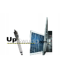 Upswung SW Solar Package  6003 24DC/115V Residential Solar  Swing Gate Operator with 1 wireless receiver, 2 transmitters and a Safety Photo Eye.