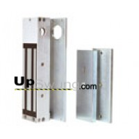 Doorking  Magnetic Gate  Lock Kit 1200LB  Kit includes predrilled and tapped mounting brackets. 1216-080