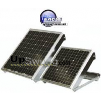 Eagle 15 Watt Solar Panel with Mounting Bracket and 15' of Lead Wire.