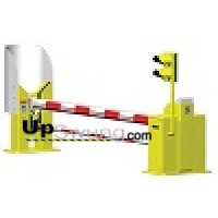Hysecurity StrongArm M50-12 Crash-Rated Barrier Gate Operator with 12 ft Clear Opening Arm