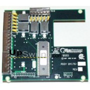 Kerisystems SB-593 Satellite II Expansion Board - Provides 2nd door control for PXL-500 plus 6 auxiliary inputs and 2 auxiliary outputs, or 8 inputs/4outputs