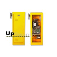 Linear BGU-D 24VDC/115VAC BBU Solar Ready Barrier Gate Operator.  Yellow or White powdercoated available. Comes with a  10,12 or 14 foot counter-balanced gate arm. Call for BEST pricing and ordering assistance.