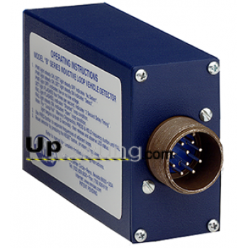 Reno B Vehicle Loop Detector with 11-Pin Amphenol Connector Single Channel, Dual Relay Outputs, Internal DIP
