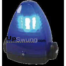 SEA Flashing Light LED with Blue Cover 24 Volt.