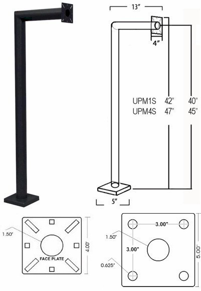 Upswung Residential Or Commercial Complete Gate Entry And